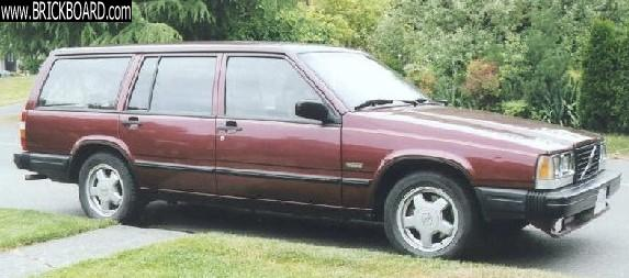 Volvo  -- 1989 Volvo 745 Turbo wagon