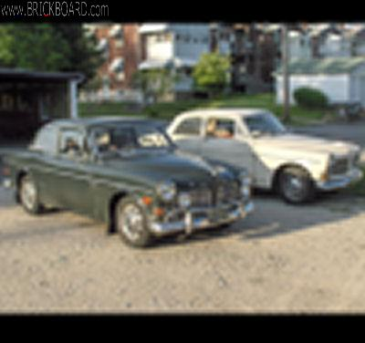 Volvo  -- blurry thumb-experiment